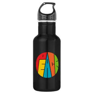 Frieden - Wort-Kunst Trinkflasche