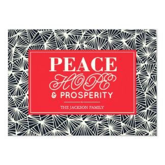 Friedens-, Hoffnungs-u. Karte
