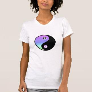 Friedens- und der Balancegrundlegendes T-Stück T-Shirt