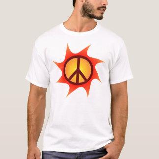 Friedens- und Lichtt-stück T-Shirt