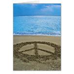 Friedensanmerkungskarte Grußkarte