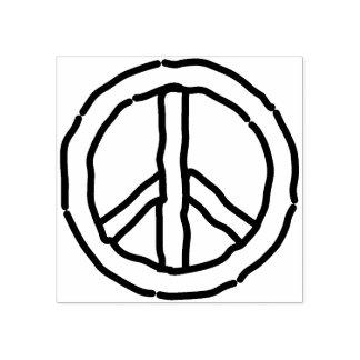 FriedensBriefmarke Gummistempel