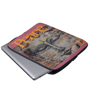 Friedensbuddha-Kunst-Laptop-Hülse Laptop Sleeve