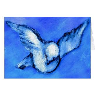 Friedensc$taube-ursprüngliche Kunst durch Karte