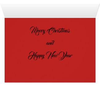 Friedensfreude-Liebe-Weihnachts- und des neuen Karte