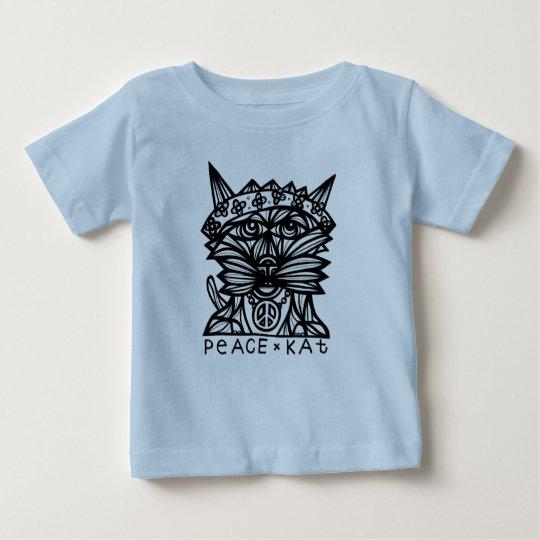 """Friedenskat-"" Baby-T - Shirt"