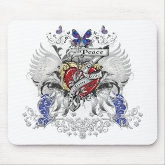 Friedensleben-Liebe-Freiheit Mousepad
