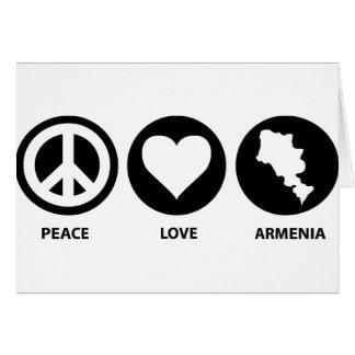 FriedensLiebe Armenien Karte