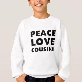 FriedensLiebe-Cousins Sweatshirt