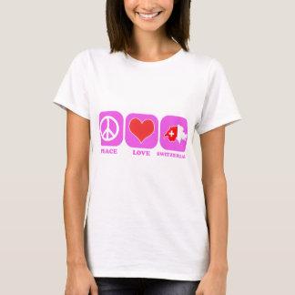 FriedensLiebe die Schweiz T-Shirt