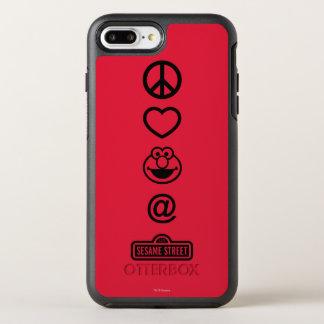 FriedensLiebe Elmo OtterBox Symmetry iPhone 8 Plus/7 Plus Hülle