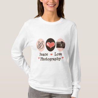 FriedensLiebe-Fotografie-KameraHoodie T-Shirt