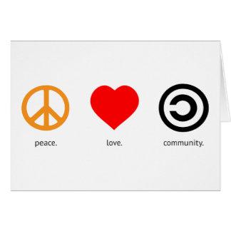 FriedensLiebe-Gemeinschaft Karte