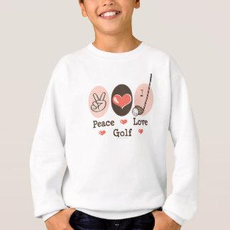 FriedensLiebe-Golf-Jugend-Sweatshirt Sweatshirt