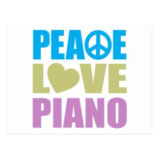 FriedensLiebe-Klavier Postkarten