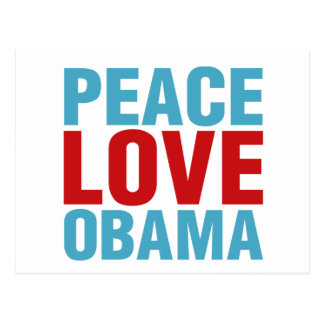 FriedensLiebe Obama Postkarten