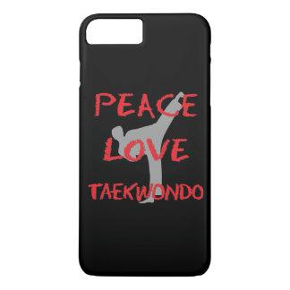 FriedensLiebe Taekwondo iPhone 8 Plus/7 Plus Hülle