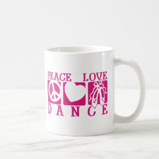 FriedensLiebe-Tanz Kaffeetasse