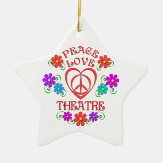 FriedensLiebe-Theater Keramik Ornament