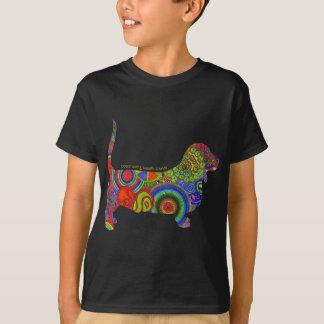 """""""FriedensLiebe-u. -dachshund-Jagdhund-"""" T-Shirt"""
