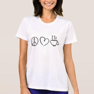 FriedensLiebe-u. -kaffee-T-Stück T-Shirt