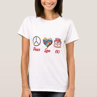 FriedensLiebe und 60 T-Shirt