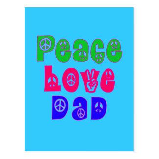 FriedensLiebe-Vati-Geschenke Postkarten