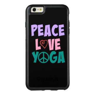 FriedensLiebe-Yoga iPhone Otterbox OtterBox iPhone 6/6s Plus Hülle