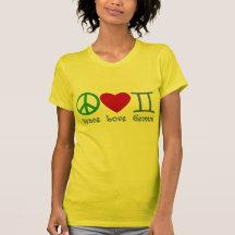 FriedensLiebe-Zwillings-astrologischer Entwurf Hemden