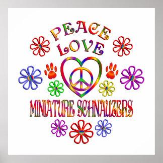 FriedensLiebeminiaturSchnauzers Poster