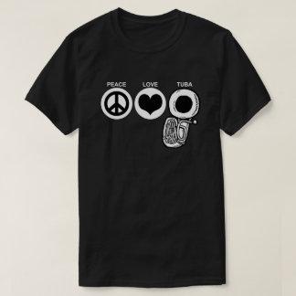 FriedensLiebeTuba T-Shirt