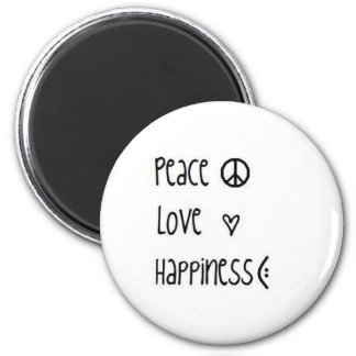 Friedensmagnet Runder Magnet 5,1 Cm