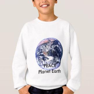 FRIEDENSplaneten-Tag der Erde die MUSEUM Zazzle Sweatshirt