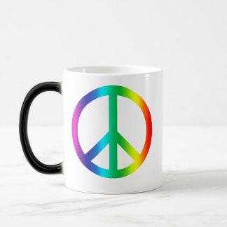 Friedenssymbol-Tasse Verwandlungstasse