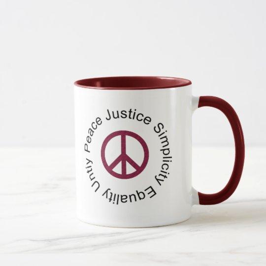FriedensTassen-Tasse Tasse