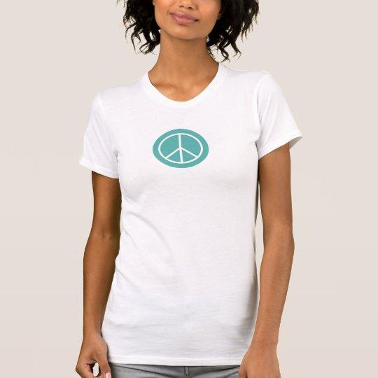 Friedensweiß-T - Shirt