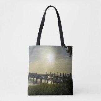 Friedlicher Abend in Fassbinder-Fluss Tasche