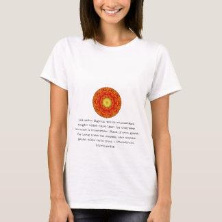 Friedrich Nietzsche - profundes Zitat T-Shirt