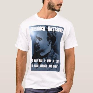 Friedrich Nietzsche, WARUM man LEBT T-Shirt