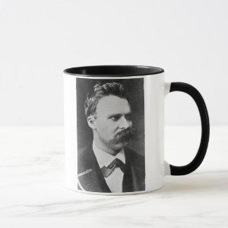 Friedrich Wilhelm Nietzsche (1844-1900) 1873 (b/w Tasse