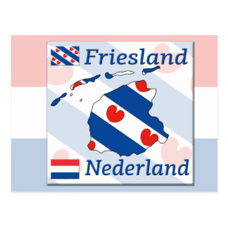 Friesland Nederland Postkarte