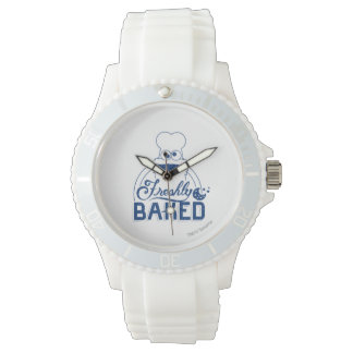 Frisch gebacken armbanduhr