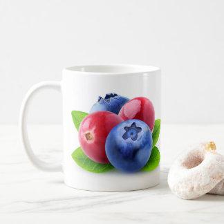 Frische Beeren Kaffeetasse