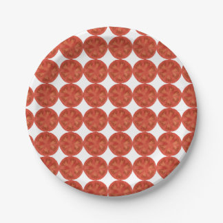 Frische Kirschtomate Pappteller 17,8 Cm