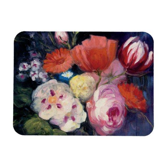 Frische Schnitt-Frühlings-Blume Magnet