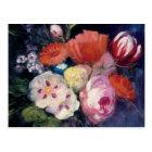 Frische Schnitt-Frühlings-Blume Postkarte