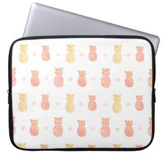 Frische Sommer-Ananas Laptop Sleeve
