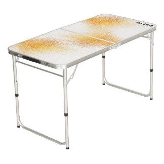 Frischer Orangensaft-Spray Beer Pong Tisch