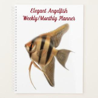 FrischwasseraquariumAngelfish wöchentliches Planer