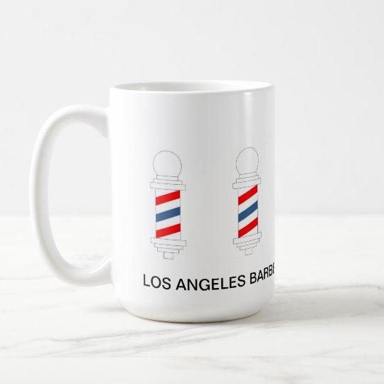 Friseur-Geschäfts-Haar geschnitten, Kaffeetasse